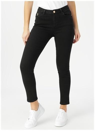 U.S. Polo Assn. U.S. Polo Assn. Siyah Denim Pantolon Siyah